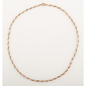 14 Karat Gold Fancy Link Necklace