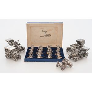 Franklin Mint Sterling Miniature Cars, Plus