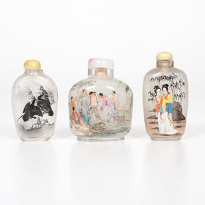 Reverse Painted Snuff Bottles