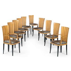 Eliel Saarinen for Arkitektura Dining Chairs