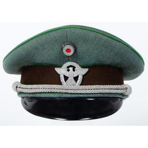 Pekuro Third Reich Ordnungspolizei Visor Cap