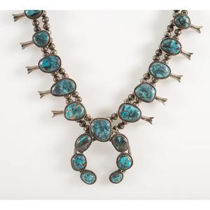 Southwestern Squash Blossom Necklace