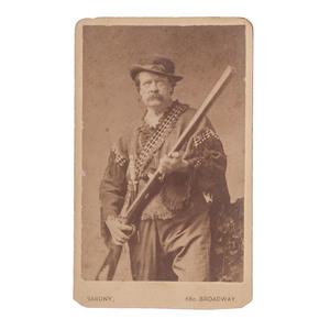 Armed Ned Buntline CDV by Sarony