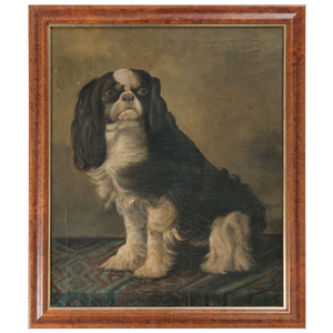 English School, Portrait of a Cavalier King Charles Spaniel
