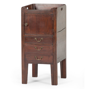 English Bedside Commode