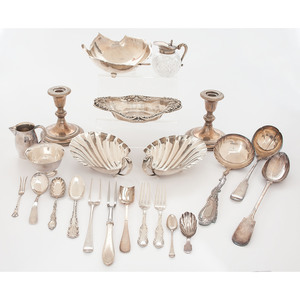 Sterling Silver Nut Dishes, Plus
