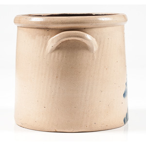 Brady & Ryan Two-Gallon Stoneware Crock with Bird Decoration