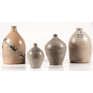 Salt-Glazed Stoneware Jugs