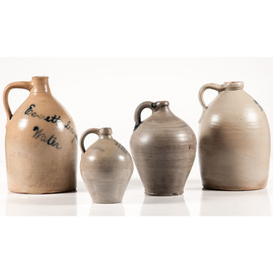 Salt-Glazed Stoneware Jugs