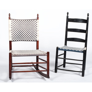 Shaker Chair and Rocker