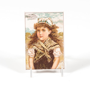 Shaker Advertising Trade Cards for A.J. White, Proprietor