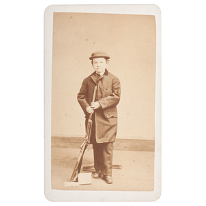 Rare CDV of John Brown's Carbine