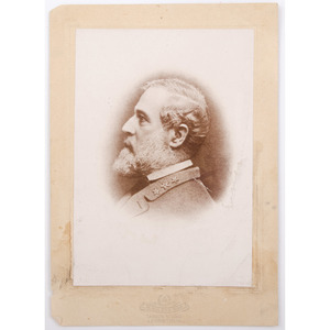 Robert E. Lee Cabinet Card by Miley
