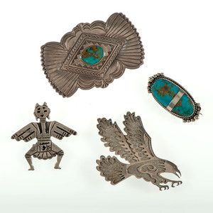 Assorted Navajo Pins / Brooches
