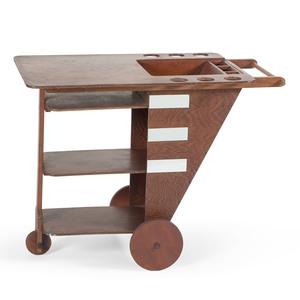 Drink Cart, in the Manner of Rudolf Schindler