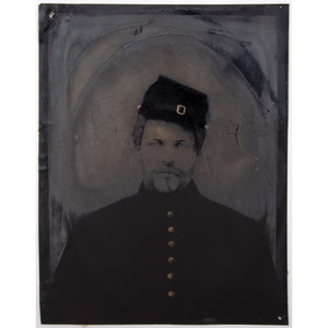 Full Plate Tintype of Yankee Private