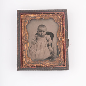 Outstanding Early Image Collection Descended from Kentucky's Prominent Johnson and Tyler Families, Including a Signed Dubourjal Miniature of Robert Tyler