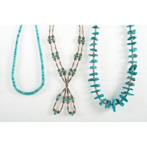 Three Assorted Turquoise Necklaces