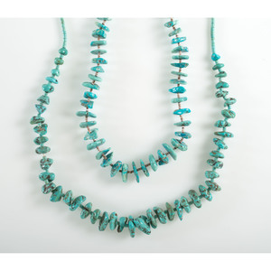 Turquoise Nugget Necklaces