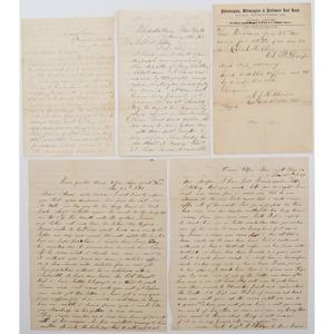 Civil War Letters of Abram H. Draper, 1st & 4th DE Infy., DOD