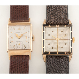 Bulova and Accro Bond Wrist Watches