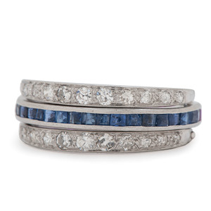 Platinum Convertible Eternity Ring