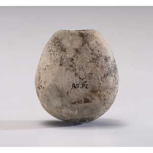 A Fort Ancient Pipe Bowl, 2 in.