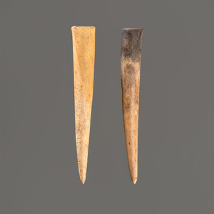 Two Large Antler Points, Longest 4-1/4 in.