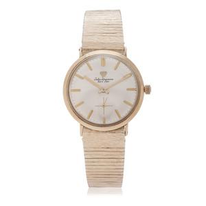 Jules Jurgensen Mechanical Wrist Watch in 14 Karat Yellow Gold