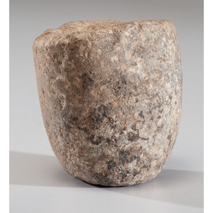 A Limestone Cup Preform, 2-1/2 in.