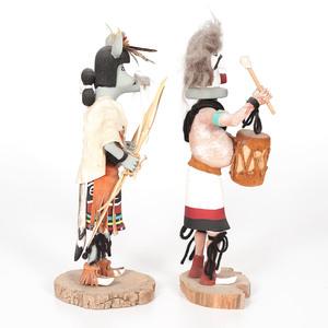 George E. Pooley (Hopi, 1951-2009) Katsinas