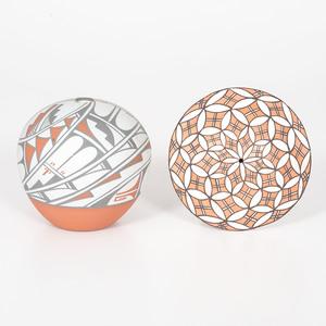 Mary Small (Jemez, b. 1940) and Rose Garcia (Acoma, 1928-2000) Pottery