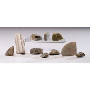 Bannerstone Fragments, Longest 3-3/4 in.