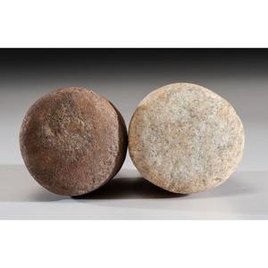 A Quartz Pestle AND A Granite Pestle, Longest 4 in.