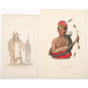 Large Group of American Indian Illustrations