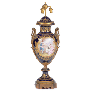 Monumental Sevres-style Urn