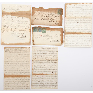 Letters to Nathan H. Dunphe, Capt. of Str. Planter #2