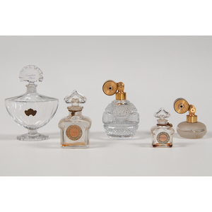 Guerlain and Marcel Franck Perfume Bottles