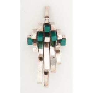 Helga Narsakka, Kaunis Koru Sterling Silver Pendant