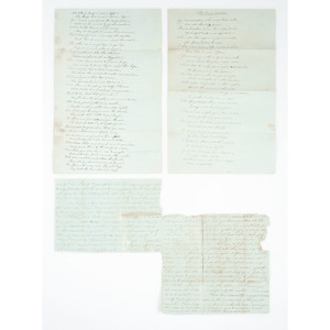 Brown and Burger Family Archive, Including 1814-1815 Letters Pertaining to Waterloo and Capture of Washington by the British