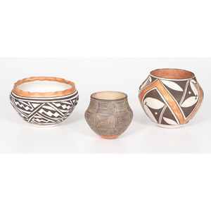 Acoma Pottery, From the Collection of Charles McNutt, Sr.