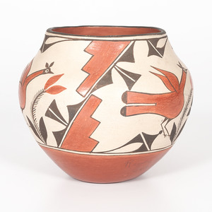 Zia Pottery Jar, From the Collection of Charles McNutt, Sr.