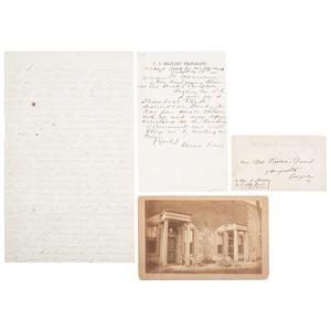 The Imprisonment of Jefferson Davis in Fortress Monroe