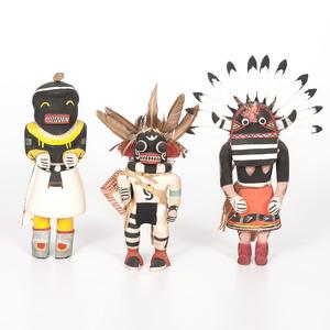 Hopi Katsinas, From the Collection of Charles McNutt, Sr.
