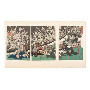 Kuniyoshi Utagawa (Japanese, 1798-1861)
