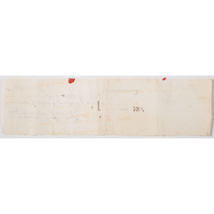 Eighteenth-Century Check Signed by Revolutionary War General John Cadwalader, 1785