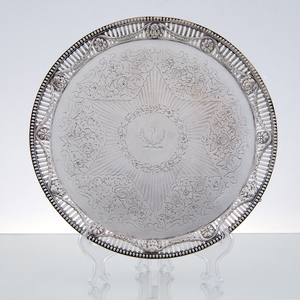 George III Sterling Salver, 1816