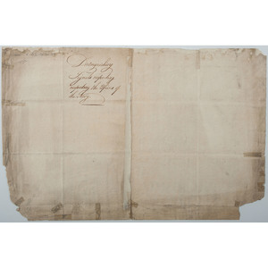 Richard Howe, British Admiral in American Revolution, DS, Distinguishing Signals Respecting Officers of the Navy, 1790