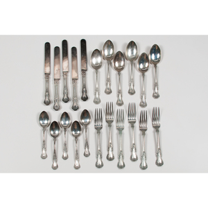 Gorham Sterling Partial Flatware Service, Cambridge