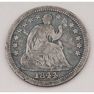 United States Seated Liberty Half Dime 1844-O